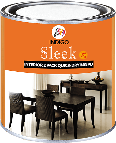 Sleek Interior Two Pack Quick Drying Pu