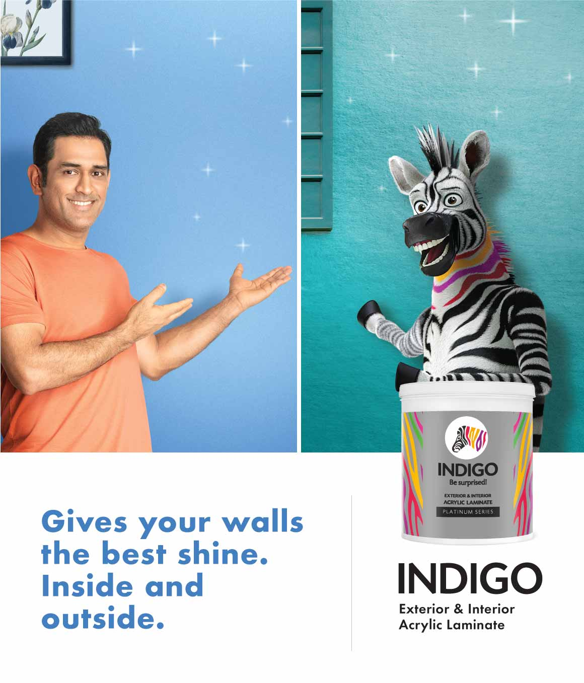 Indigo Paints - Wall Paints, PU Enamel, Wood Coatings