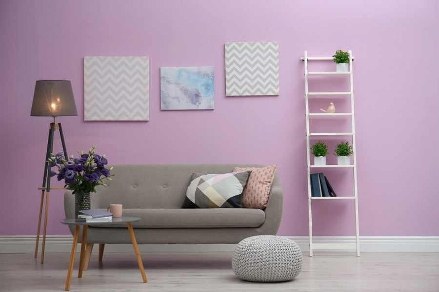 Colour combination ideas for interior walls