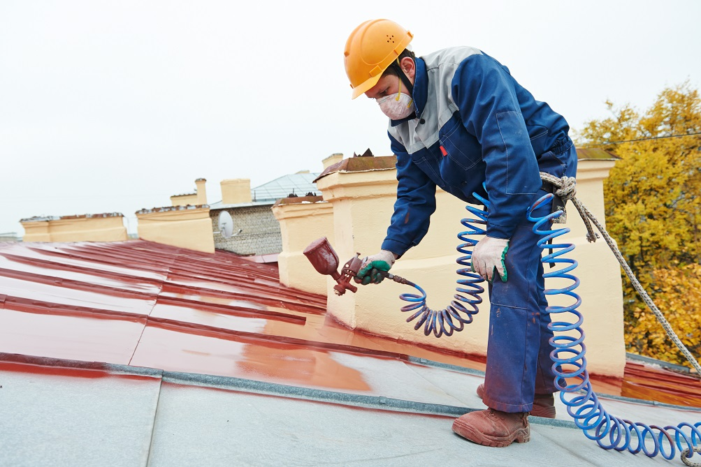 Benefits of roof painting