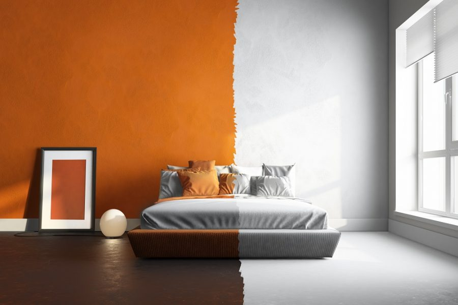 Paint colour combination ideas for interior walls