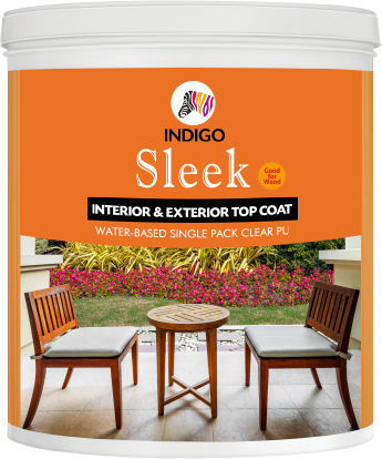 Sleek Interior Exterior Water Based Single Pack Pu