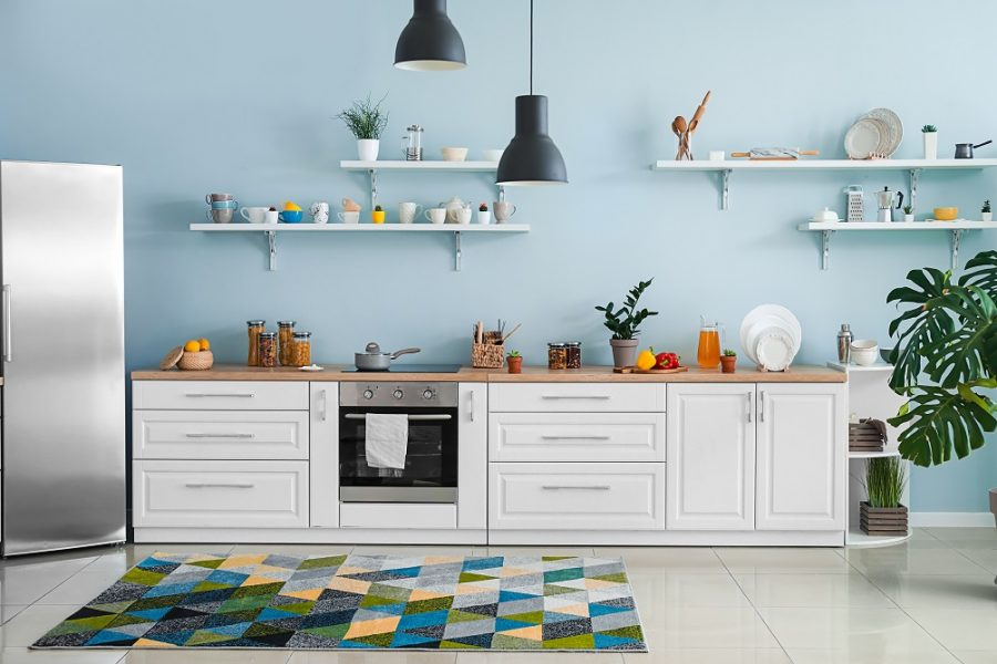 7 diy paint ideas that will give stylish look to your kitchen