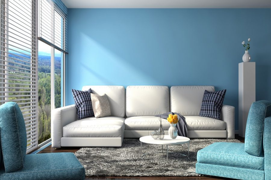 8 shades of blue that will give dynamic look to your hall
