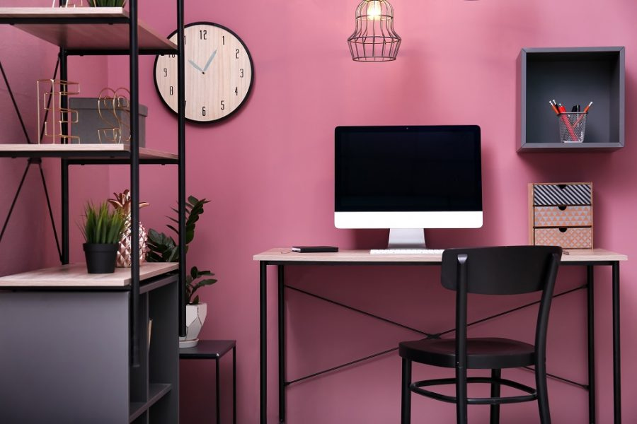 Paint ideas to redesign office in small budget