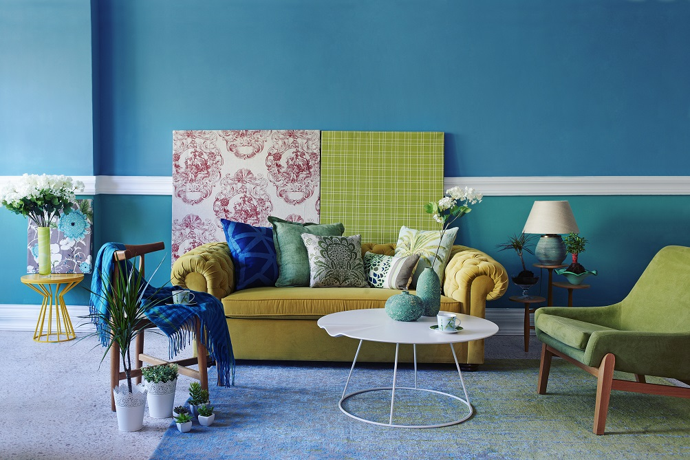7 two colour combination to complement your furniture