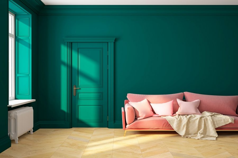 Why Two-Colour Combinations Work Best for Living Rooms?